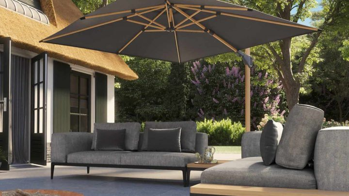 Solidne parasole ogrodowe w dobrych sklepach